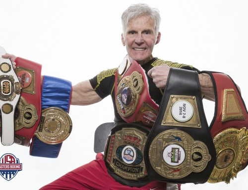 MASTERS BOXING LEGEND CELEBRATED AS FIRST HALL OF FAME INDUCTEE
