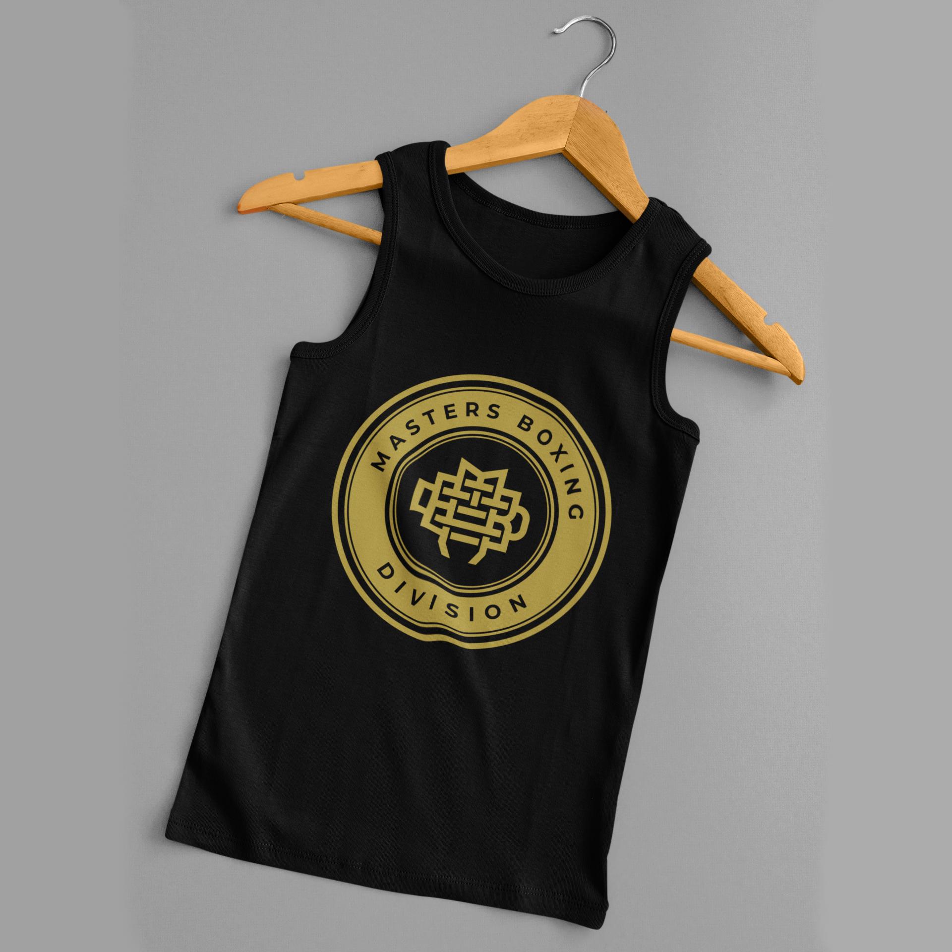 Masters Boxing Division Black Gold Tanktop