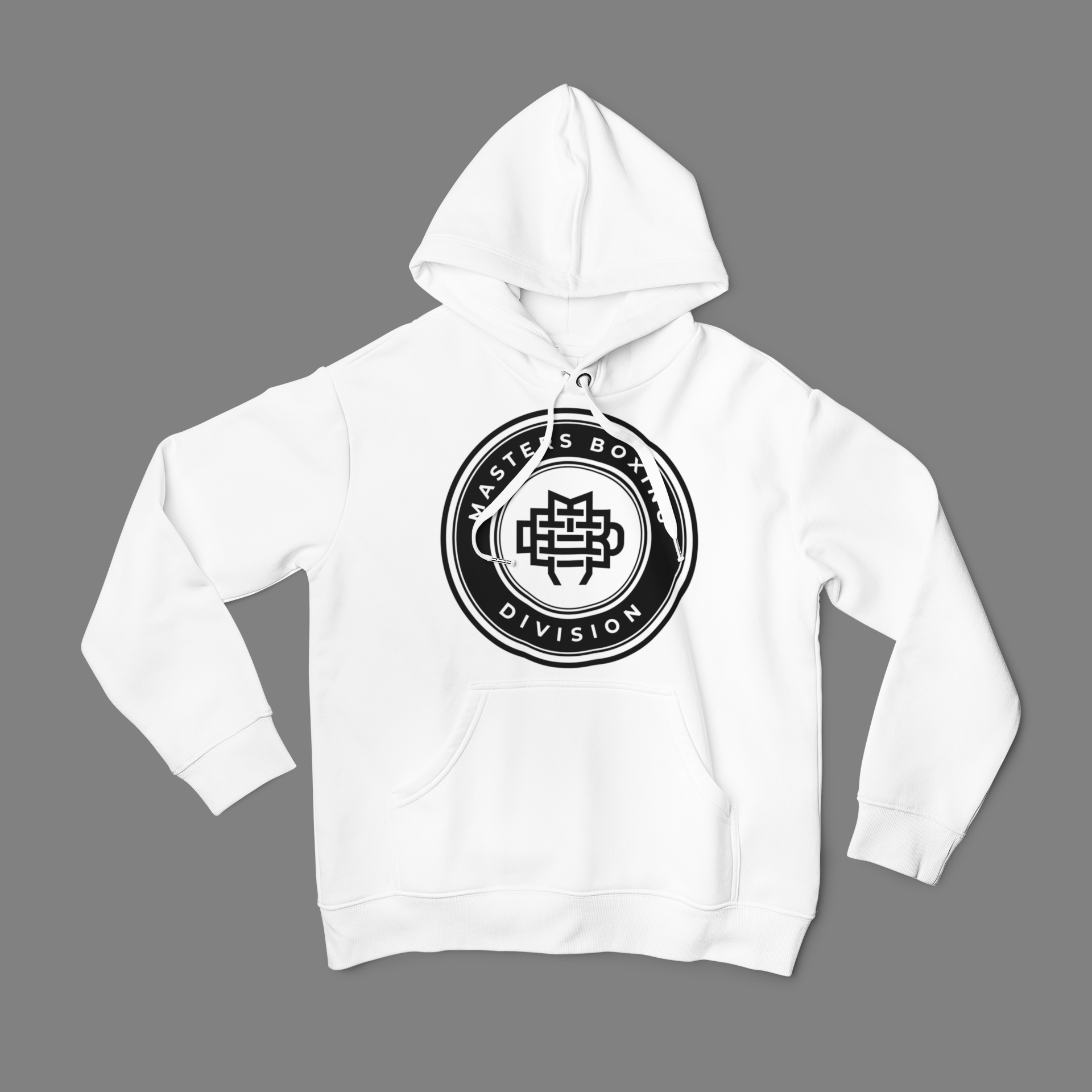 MBD Black on White Hoodie