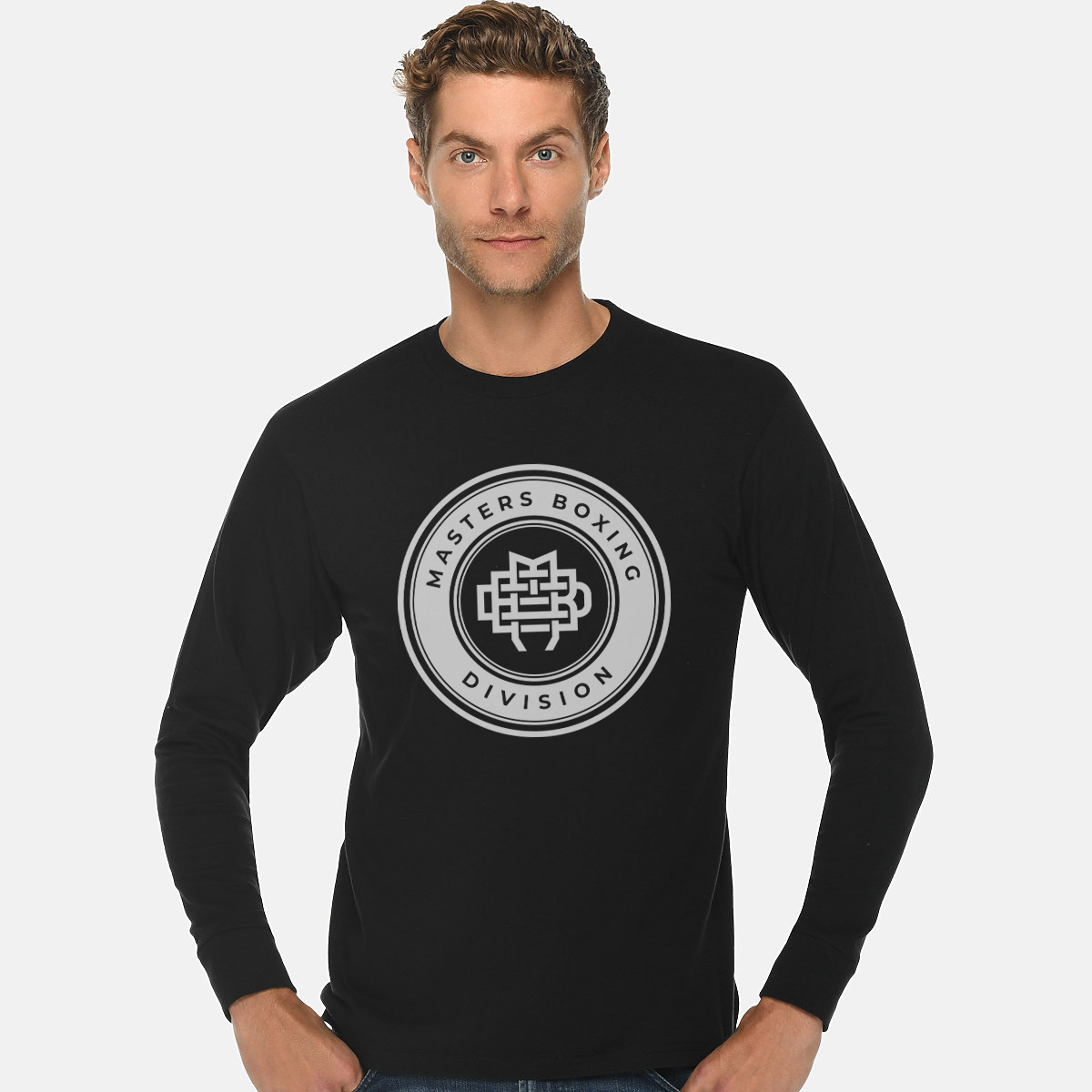 Masters Boxing Division Black long sleeve