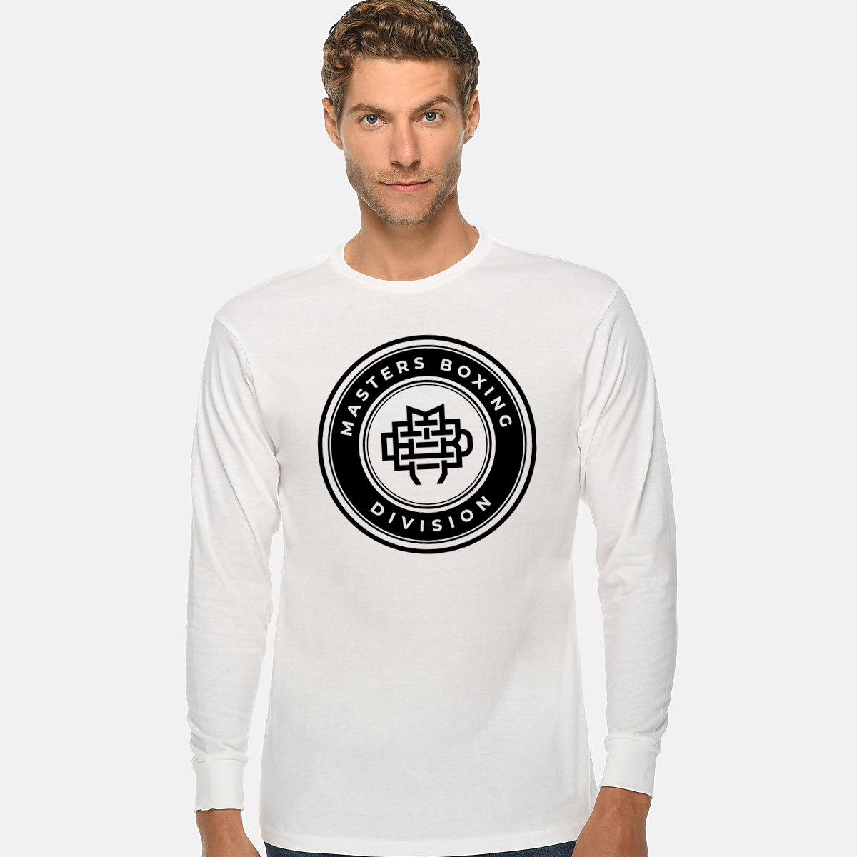 Masters Boxing Division White Long Sleeve