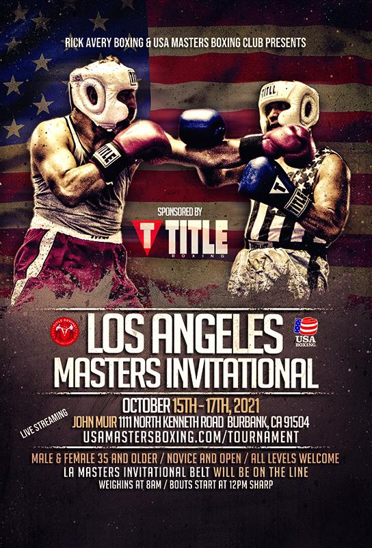 Los Angeles Masters Invitational Boxer Fee